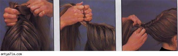 خطوات تضفير الشعر للبنات فى المدرسه وا الضفائر لفرنسيه بالصور %D8%BA
