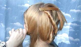 خطوات تضفير الشعر للبنات فى المدرسه وا الضفائر لفرنسيه بالصور 4860