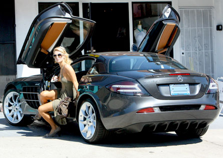paris hilton car