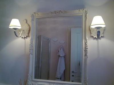 Shabby and charme il mio bagno grande my bathroom - Bagno senza finestra odori ...