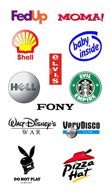 logo parodies funny branding