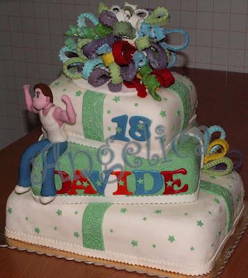 Emozioni in torte le torte di angelica che forza i 18 for Torte 18 anni ragazzo