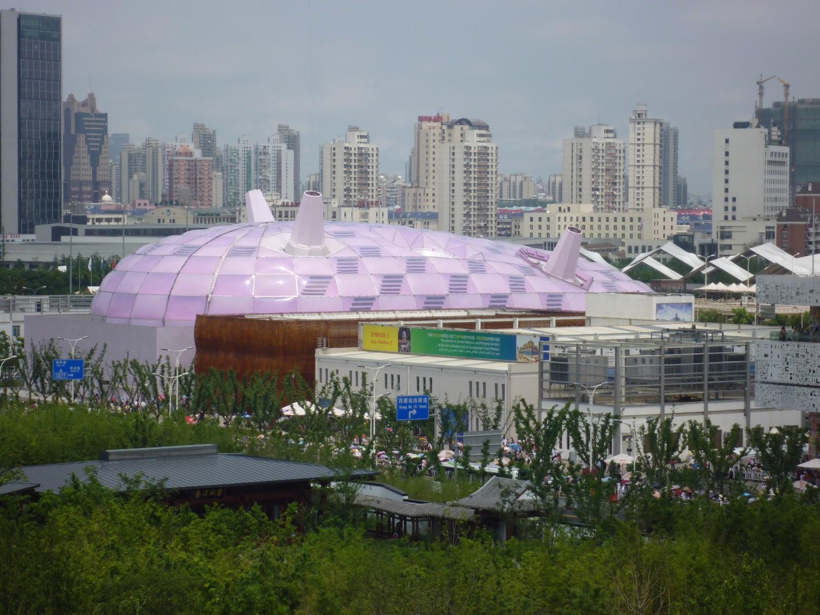 World expo 2010 shanghai china japan pavilion vs japanese for Expo 2010 pavilions