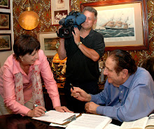 Steele & Langevin with Sidney Alpert in Maryland, Summer 2007