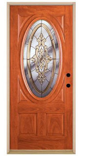Feather River Fiberglass Door from Home Depot