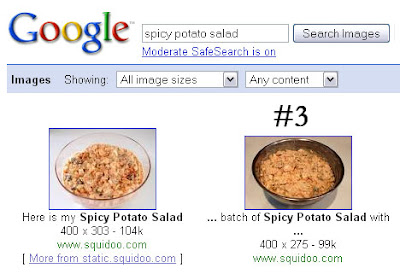 google image search spicy potato salad