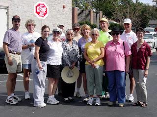 Lexington CROP Walk group