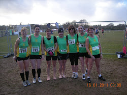 Meath novice womens XC team at Tullamore