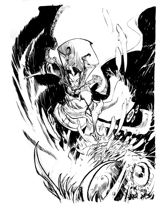 Dr. Strange by Eric Canete