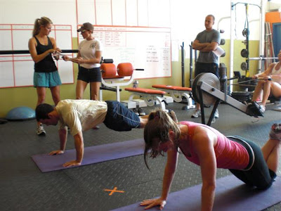 crossfit40 07 21 09 wod g time angie 100 pull ups 100 push ups