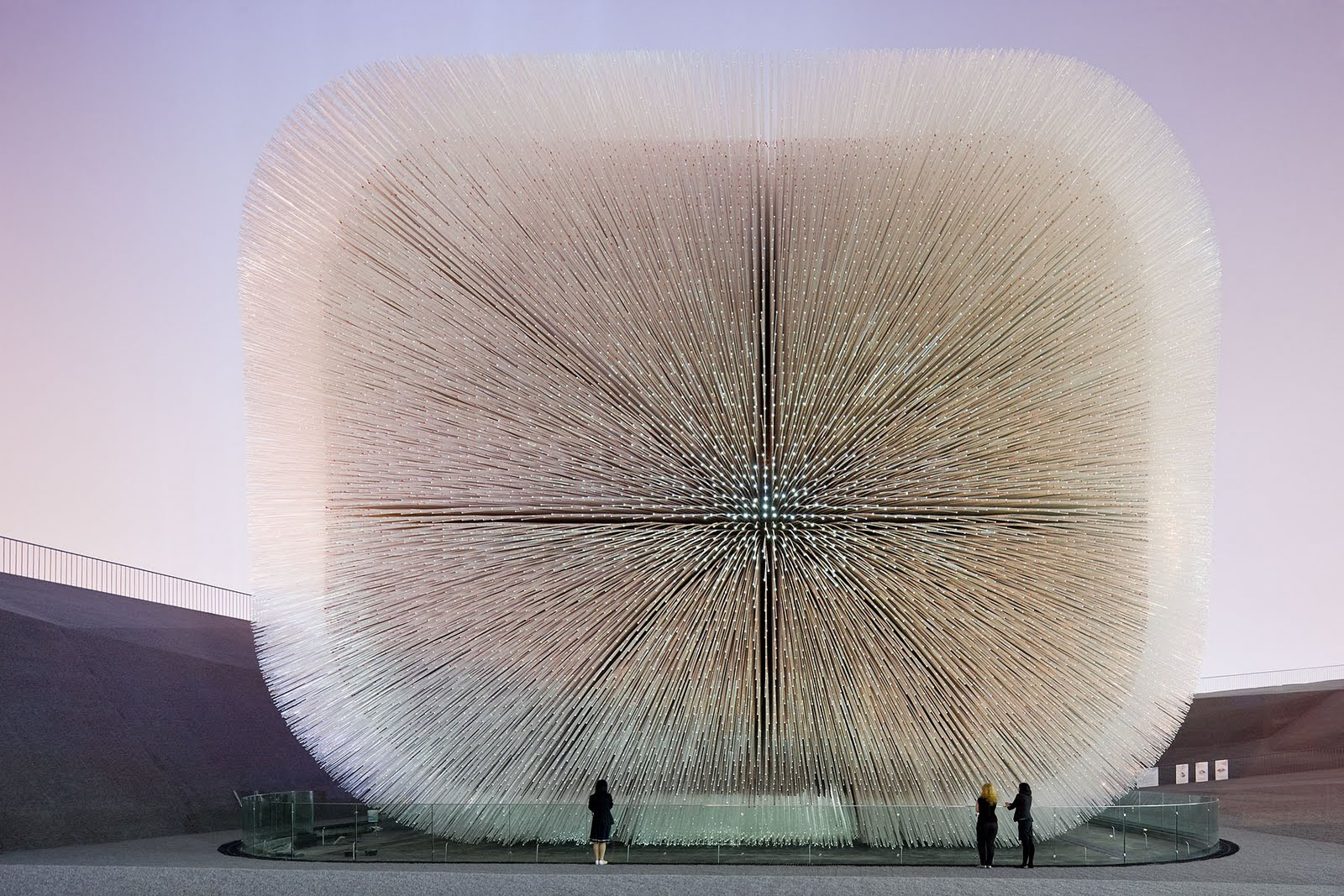 Sacred Space Thomas Heatherwick 39 S Seed Cathedral In Shanghai
