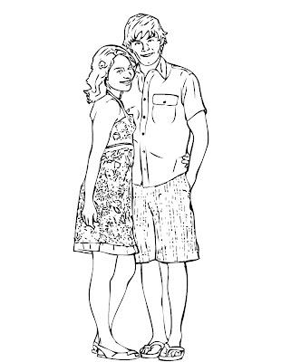 Blog de Kuaki: Dibujo Para Colorear de High School Musical ...
