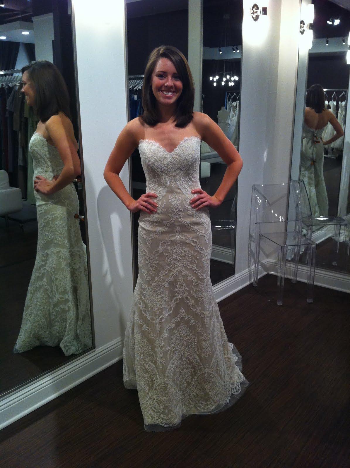 Sash or no sash with my lace dress?