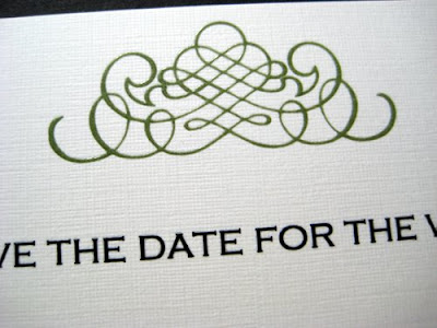 border designs for wedding cards. Alicia chose the damask order
