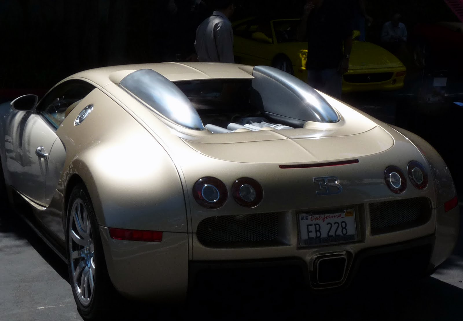 You Wonder, Will You Always Remember The First Time You Saw A Bugatti Veyron  In Real Life?