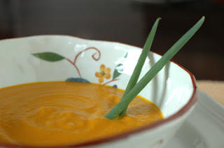 Savory & Sweet: Ginger Carrot Soup with Cashews