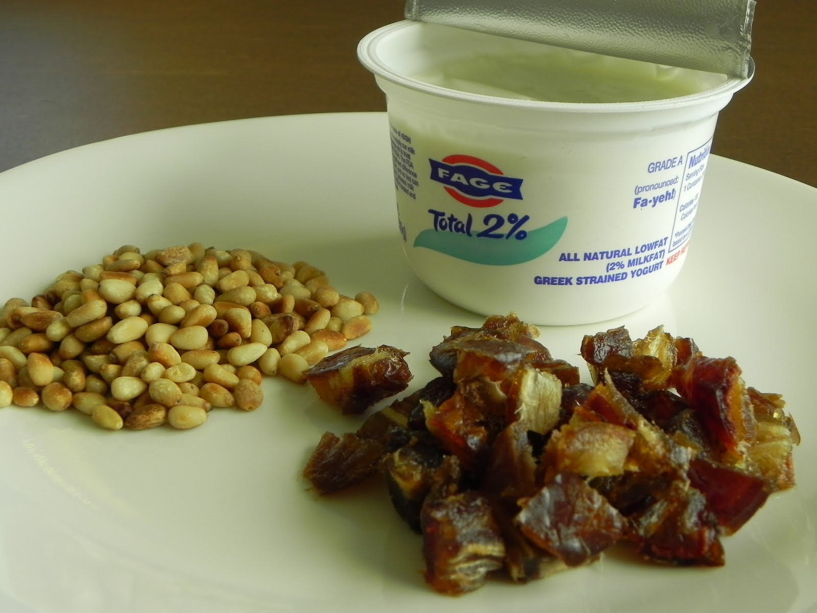 Yogurt With Toasted Quinoa, Dates, And Nuts Recipe — Dishmaps