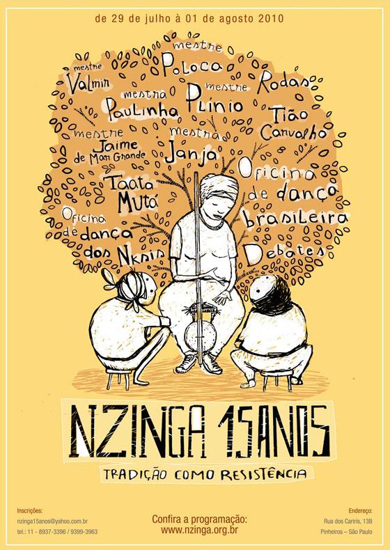 Nzinga 15 anos - 2010