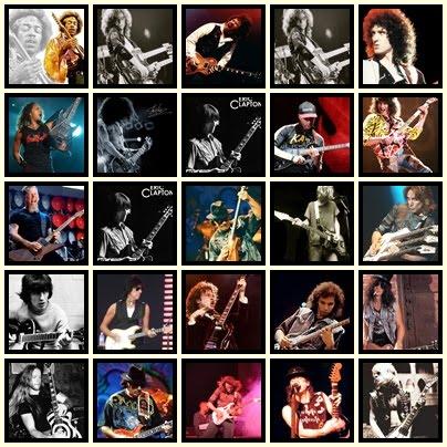 los cien mejores guitarristas: