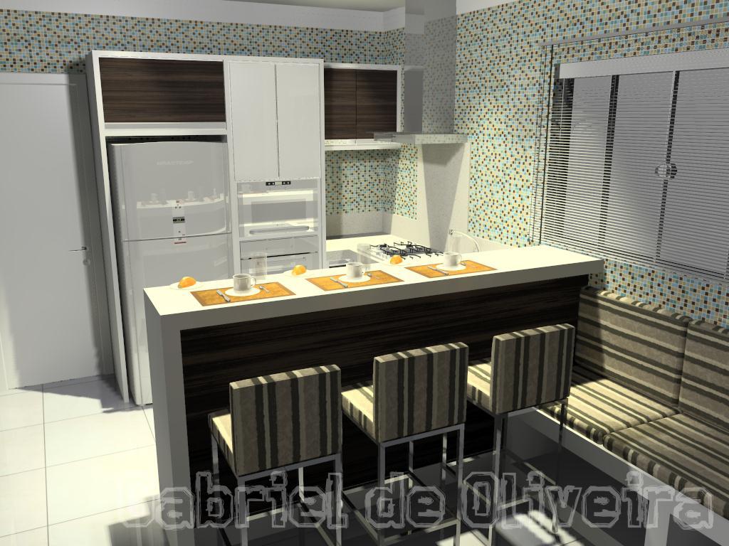 Cozinhas compactas #C0800B 1024 768