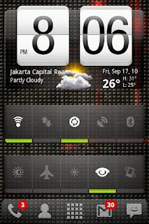 Home Screen Android Nexian