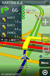 GPS Android Nexian Journey