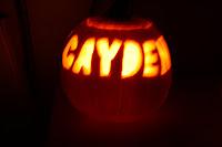 Cayden pumpkin