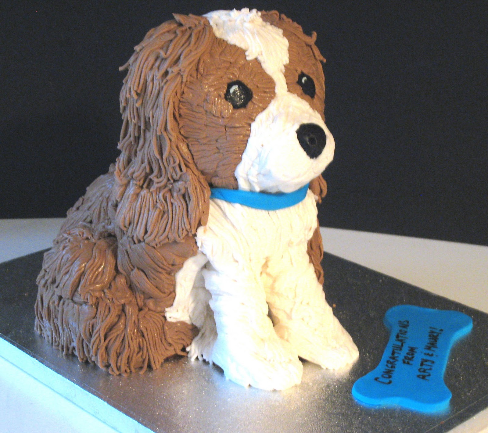 Pictures of Dog Cakes http://heavenlybitescakes.blogspot.com/2010/11/ruff-ruff.html