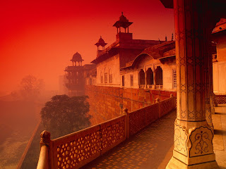Agra Fort, India Places Desktop Wallpapers