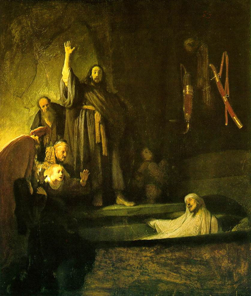 Patrick Comerford: The Raising of Lazarus, John 11: 1-
