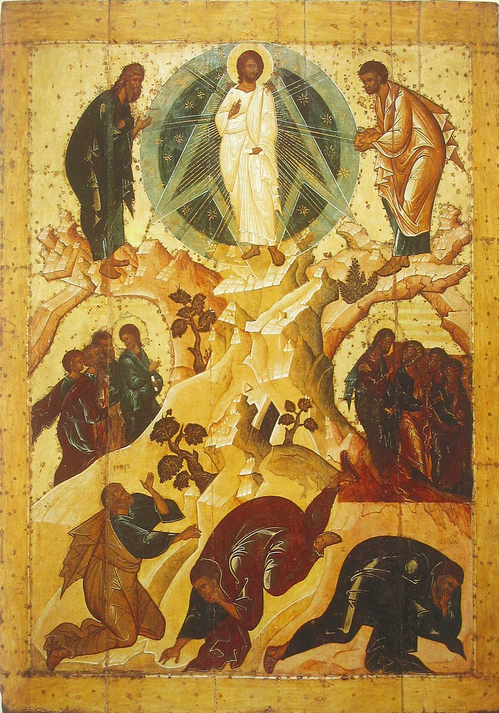Icon of the Transfiguration of the Lord: a description of the plot and the image
