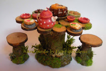 Mesa de Picnic de hadas - Fairy Picnic Table
