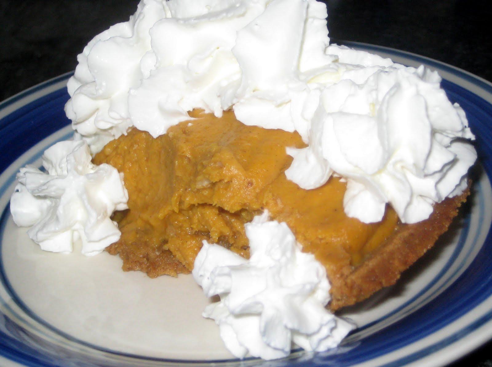 21st Century Urban Pioneers: Bourbon Pumpkin Pie