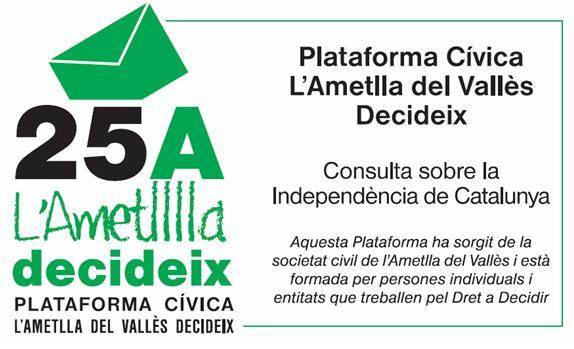 L'Ametlla del Vallès Decideix (25 d'Abril)