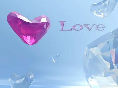 Love - e-card čestitka za Valentinovo