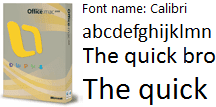 Microsoft Windows fontovi Mac