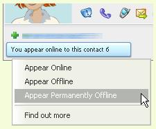 Yahoo offline friends