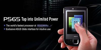 ASUS P565 PDA - najbrži smartphone mobiteli
