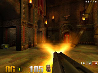 igre download Quake 3 za Symbian S60 3rd Edition Smartphone Nokia