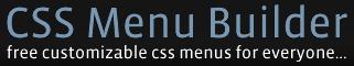 Besplatni CSS izbornici CSS Menu Builder