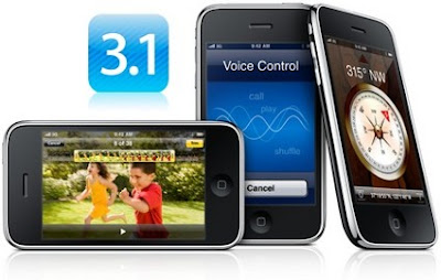 iPhone 3.1 Firmware besplatni download