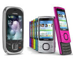 Nokia 6700 Slide i 7230 mobiteli