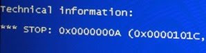 fix windows vista sp2 blue screen of death stop 0x0000000a