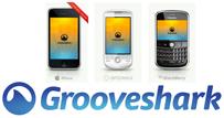 Grooveshark mobile aplikacija za Android i BlackBerry mobilne telefone