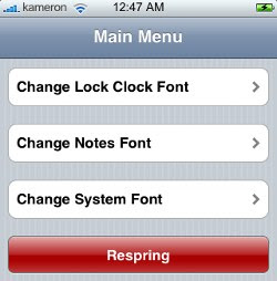 download Font Swap - mijenjajte iPhone i iPod Touch fontove