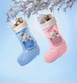 Muška i ženska čarapa za Božićne poklone download besplatne Božićne slike e-cards čestitke