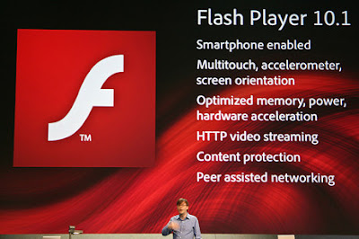 Adobe Flash Player 10.1 za Windows Phone 7, BlackBerry, Symbian