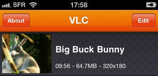 download besplatni programi VLC Media Player za iPhone, iPod Touch i iPad