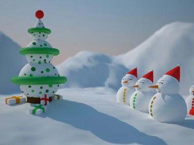 Božićne slike download besplatne sličice čestitke free e-cards Christmas snjegović