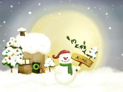 Božićne slike čestitke snjegović sličice download free e-cards Christmas